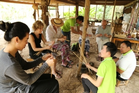 1/2 Day Bamboo weaving & Cooking class